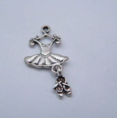 Ballet Outfit Personalised Keyring